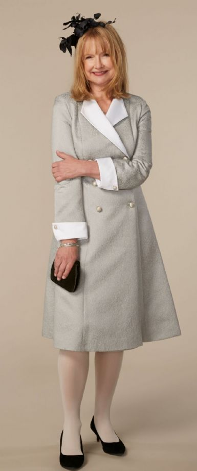 Silk Coat Dress